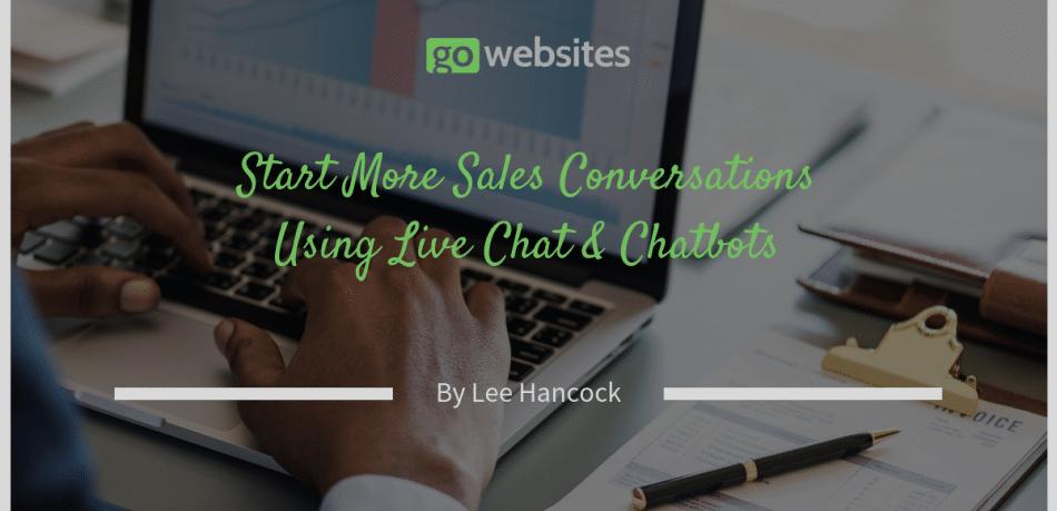 Start More Sales Conversatins