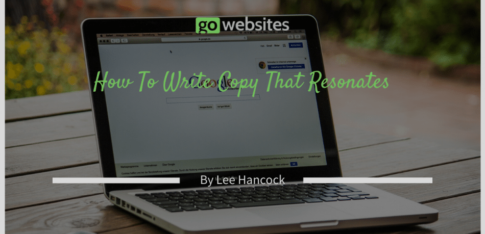 How To Write Copy That Resonates
