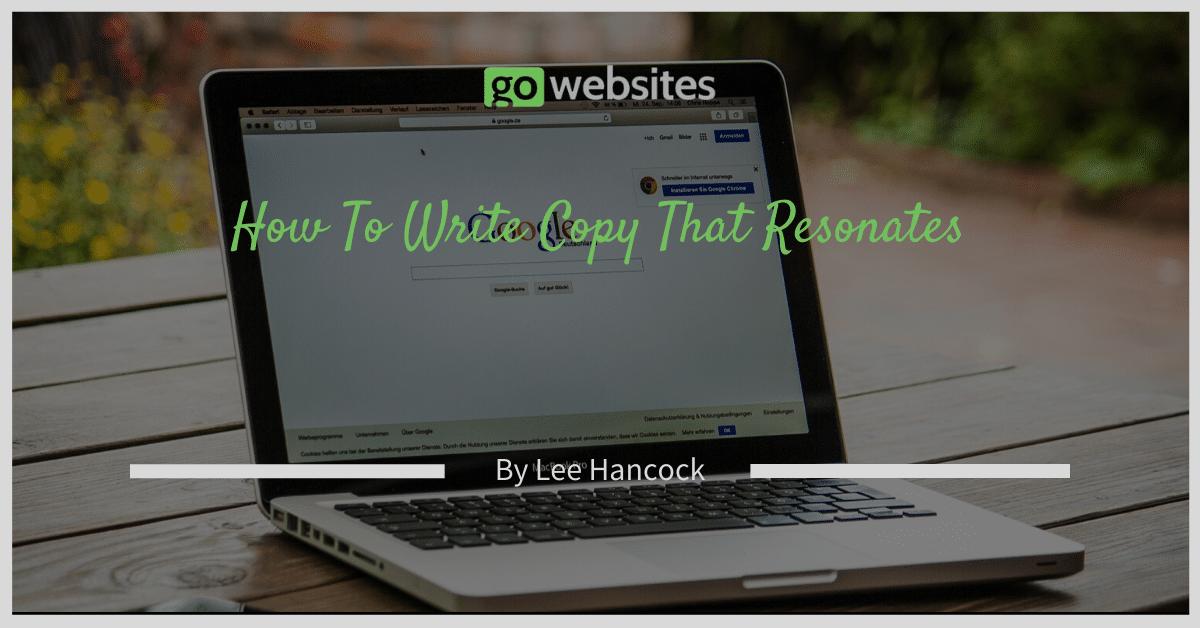 How To Write Copy That Resonates