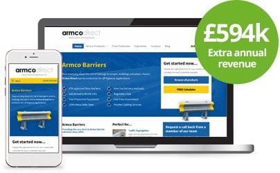 Armco Direct - Web Design