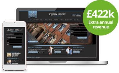 Queen Street - Web Design